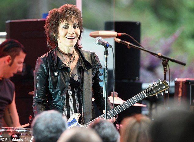 Joan Jett on stage