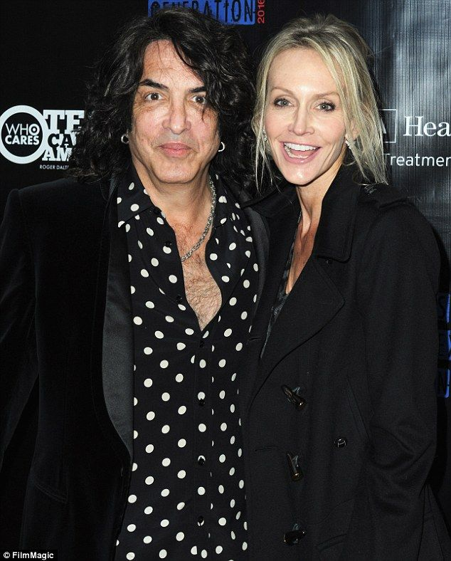 Paul Stanley and Wife