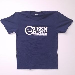 Teen Cancer America T-Shirt Navy
