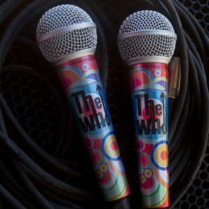 Teen Cancer America The Who 50th Microphone